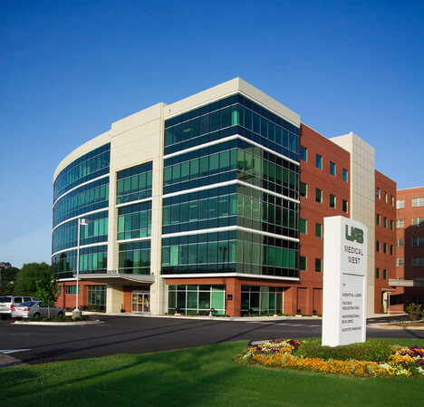 Image of UAB Medical West where One Stop Environmental performed selective interior demolition.
