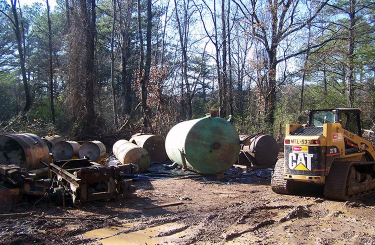 Storage Tank Demolition : Ust removal closure one stop envrionmental