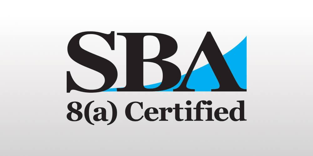 Image of SBA 8(A) certification logo