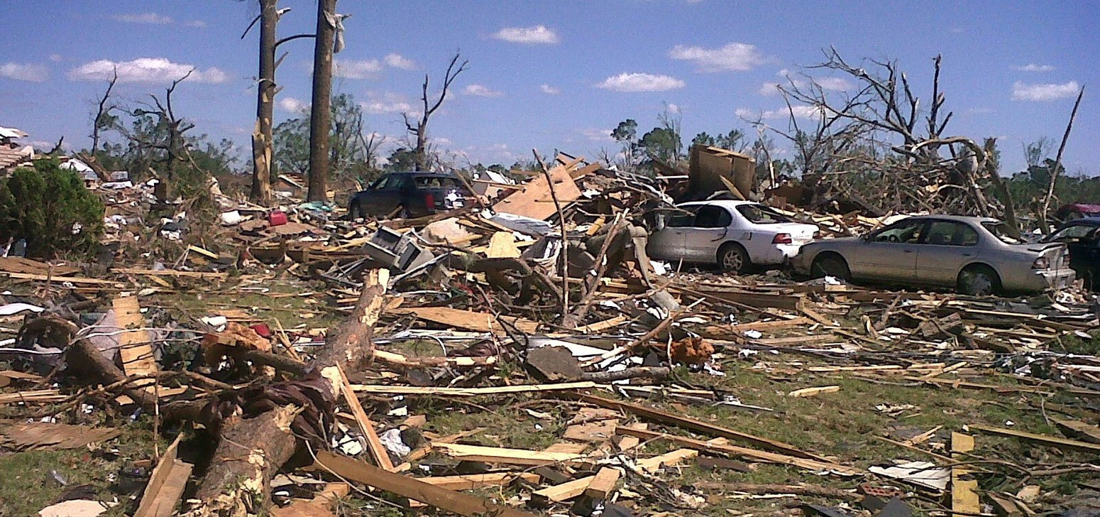 Woodlawn business in tornado cleanup