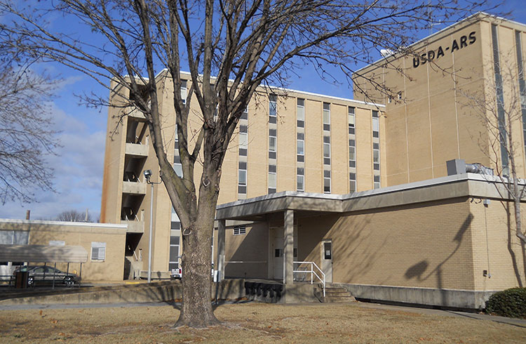 Image of the Jaimee Whitten Delta Research building where One Stop performed asbestos, lead and mold abatement.